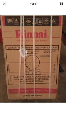 Rinnai RUCS75i N Tankless Water Heater Natural Gas 7.5 GPM Max NEW SEALED