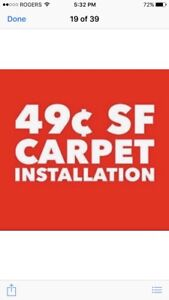 SAVE UP TO 30 % SUMMER CARPET SALE CALL TEXT 416 625 2914