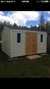 Garden sheds/ baby barns built on site in a day. 8x8 for 1300