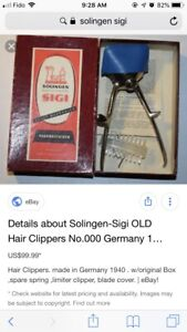 Antique Vintage Hair Clippers