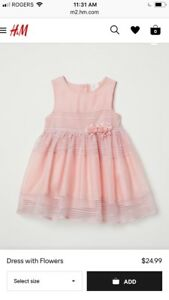 Brand New with tag 12-18M dress