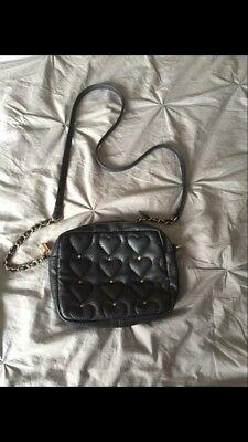 black Hearts Detailed handbag shoulder Bag