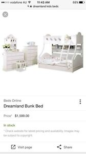 Double/single bunk bed Burton Salisbury Area Preview
