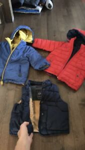 18-24 month winter coats and vest