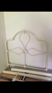 Wrought iron bed single Frenchs Forest Warringah Area Preview