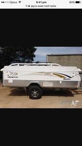 Wanted jayco swan roof racks Gosnells Gosnells Area Preview