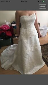 Beautiful Ivory wedding dress REDUCED for only $60