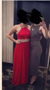Red and gem formal/Prom dress