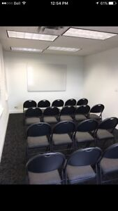 Small group meeting room