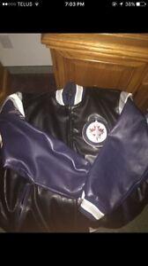 Winnipeg jets leather jacket