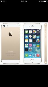 Rogers Locked Gold Iphone 5s 16G