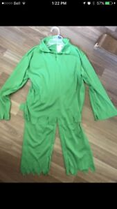 Peter Pan Costume - Size 8/10T