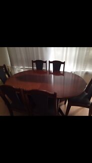 Antique solid timber dining Table extension table