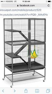 Looking for a cage like this for a Chinchilla