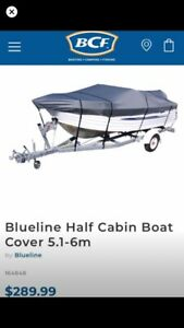 Boat Cover Canvas Suits 5.1 - 6m