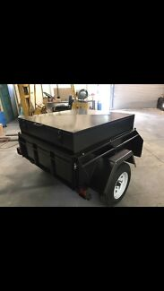 Lockable tradesman / camping trailer St Agnes Tea Tree Gully Area Preview