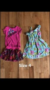 Girls size 4/5 summer lot