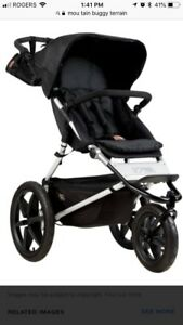 High end Mountain buggy terrain jogging stroller - like new