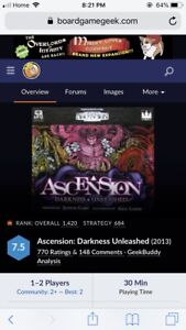 ISO Ascension Board Game