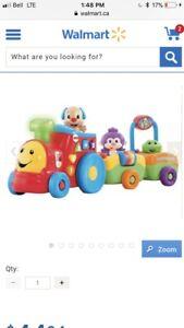 Animal Toy Train