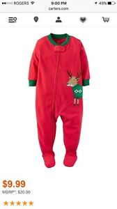 Baby Christmas PJs, size 12 months