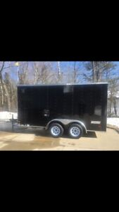 2017 Haulmark enclosed cargo trailer