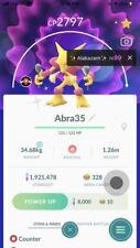 Pokemon Shiny Alakazam Level 35 With Counter Registered ...