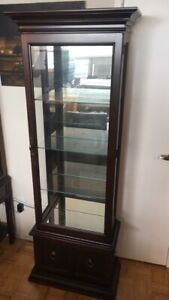 Lighted Curio / Display Cabinet