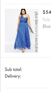 Plus size (20)  blue formal dress Rocklea Brisbane South West Preview