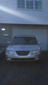 Hyundai sonata limited 2009      * Échange *