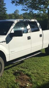 Side steps for crew cab f150