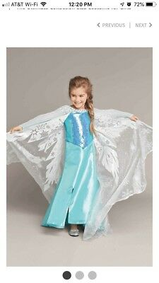 Beautiful Elsa Costume (Chasing Fireflies The Ultimate Collection Elsa Costume 10-12 BEAUTIFUL!! NEW)