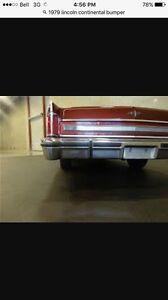 ISO: 1979 Lincoln Continental bumper (rear)