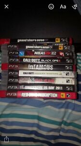 160 gig PS3 110 and 10 dollars a game 3 for 25