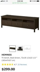 IKEA Hemnes tv or media stand