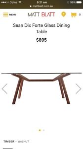 Sean Dix dining table purchased from Matt Blatt Nundah Brisbane North East Preview