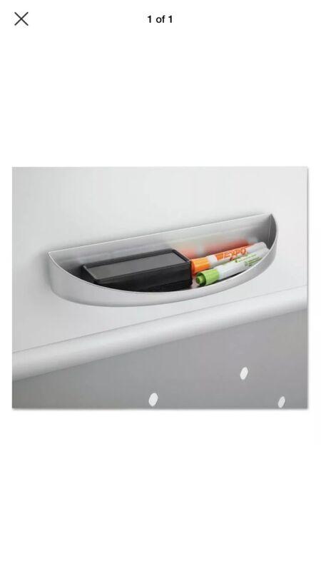 Safco Rumba™ Whiteboard Screen Accessories Eraser Tray 12 1/4 x 2 1/4 Silver