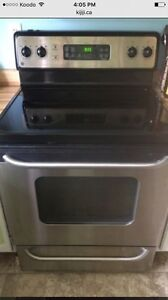 GE Stainless Steel Stove for sale