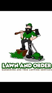 Lawn&order gardening and tree lopping services