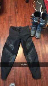 Dirt bike boots and pants!!!