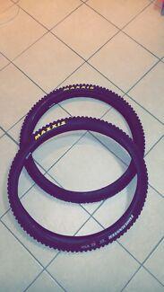 Mtb Maxxis tyres