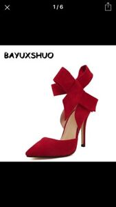 Ladies high heel occasional shoes