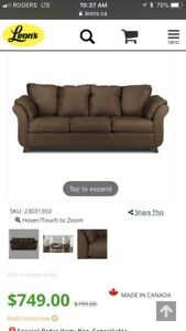 Like New Brown Couch