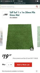 Tuff turf 1 /1 meter or artificial grass Northfield Port Adelaide Area Preview