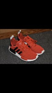 ADIDAS NMD RED BLACK WHITE DS