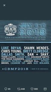 Cavendish Beach Music Festival Tickets!!!!