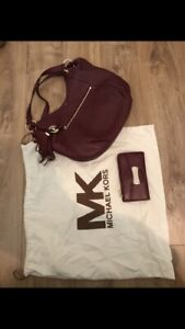 Mint condition michael kors purse and wallet