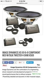 Image Dynamics XS69 component speakers