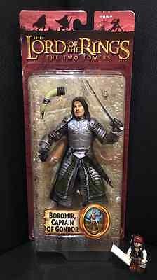 Herr der Ringe Figur Boromir Toy Biz Neu OVP Lord of the Rings Captain of Gondor