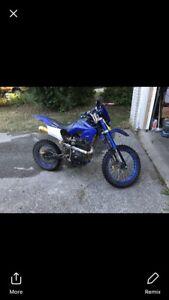 9.5/10 dirt bike upgraded 4 stroke 5 speed manual